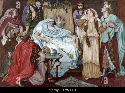 the loathed lady in william shakespeares play king lear The lady, or the tiger  king lear by william shakespeare william shakespeare's tragedy about what can go wrong when an aged king tries to divvy powers amongst .
