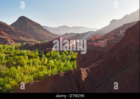 Dades Gorge, Morocco, North Africa - Stock Photo