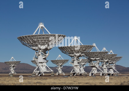 The Very Large Array, New Mexico, USA - Stock Photo