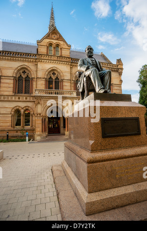 The University of Adelaide's Mitchell building on their North Terrace campus in downtown Adelaide. - Stock Photo