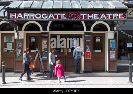 Harrogate Theatre, Oxford Street, Harrogate, North Yorkshire, England, UK - Stock Photo