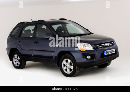2009 Kia Sportage - Stock Photo