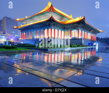 National Theater of Taiwan in Liberty Square, Taipei, Taiwan. - Stock Photo