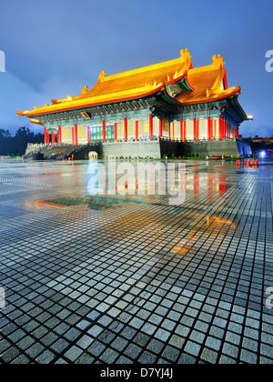 National Theater of Taiwan in Liberty Square, Taipei, Taiwan. - Stock Photo