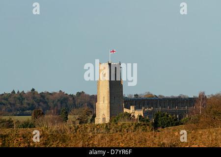 Church of the Most Holy Trinity, Blythburgh, Suffolk, England, United Kingdom - Stock Photo
