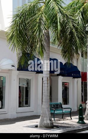 Ralph Lauren store in Philipsburg, St. Maarten, Netherland Antilles - Stock Photo