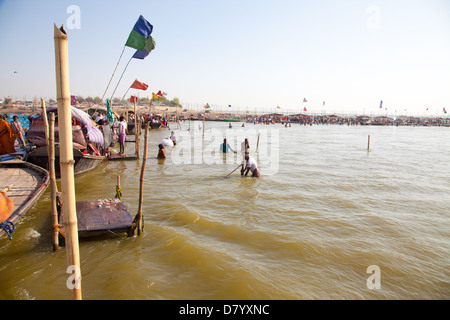 river ganges and yamuna meet at the alter