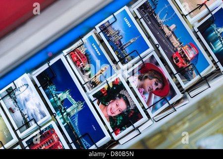 London Postcards - Stock Photo