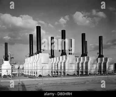 O. L. Olsen Company, Inc., at C. M. & M. Gas Products, Inc., Bridgeport, Texas - Stock Photo
