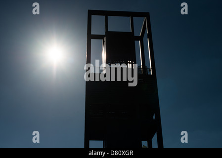 At the Netherlands Carillon next to Arlington National Cemetery and the Iwo Jima Memorial. First donated in 1954, the Carillon was moved to its current location in 1960. It was a gift of the Netherlands to the United States in thanks for US aid during World War II. Stock Photo
