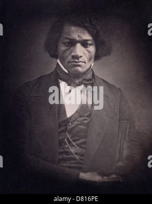 Frederick Douglass, American social reformer, orator, writer and statesman - Stock Photo