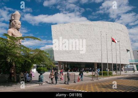 Bibliotheca Alexandrina, Alexandria, Egypt - Stock Photo