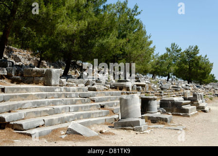 Market place of ancient Greek city-state of Sparta Stock ...