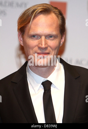 Paul Bettany Orange British Academy Film Awards (BAFTAs) held at the Royal Opera House - Press Room London, England - Stock Photo