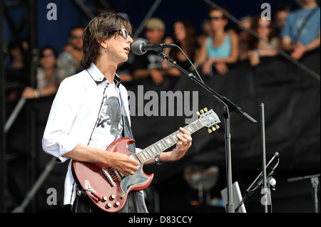 The Cars Lollapalooza Music Festival 2011 - Performances - Day 3 Chicago, Illinois - 07.08.11 - Stock Photo
