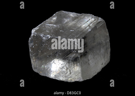 Single Clear Quartz Crystal - Stock Photo