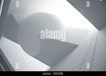 A abstract modern architecture background. - Stock Photo