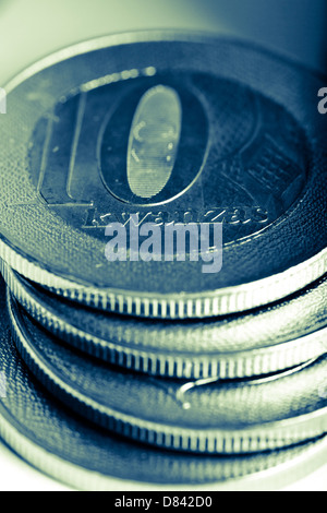 Angola coins - Stock Photo