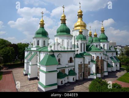 Saint Sophia Cathedral in Kiev, Ukraine - Stock Photo