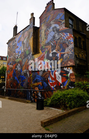 Cable Street Mural - Stock Photo