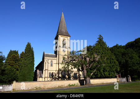 St Peter's church , Southborough Common , near Tunbridge Wells , Kent , England - Stock Photo