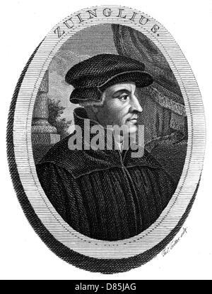 Ulrich Zwingli - Stock Photo