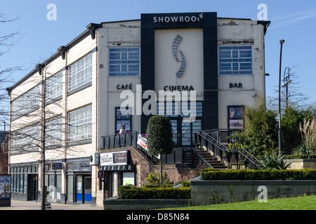 Showroom cinema sheffield stock photo royalty free image for Timetable 85 sheffield