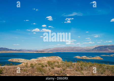 This is an image of Lake Mead, Nevada. - Stock Photo