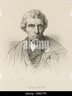 Cherubini  Luigi 1760 1842 - Stock Photo