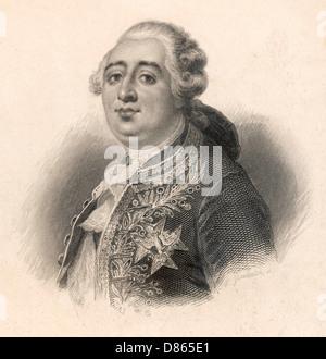 Louis Xvi  King Of France - Stock Photo