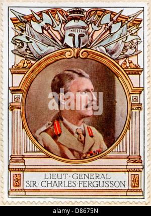 Field Marshal Sir Robertson Stamp - Stock Photo