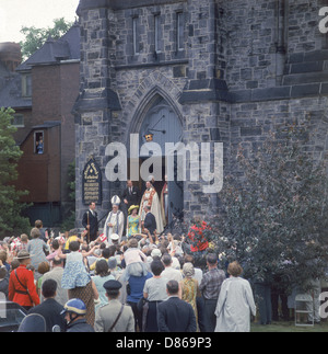 Queen Elizabeth Ii  Canada Tour 1967 - Stock Photo