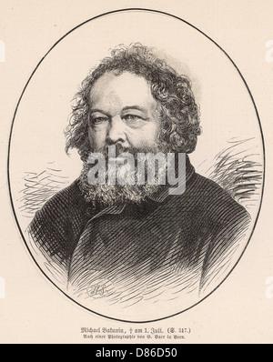 Mikhail Bakunin - Stock Photo