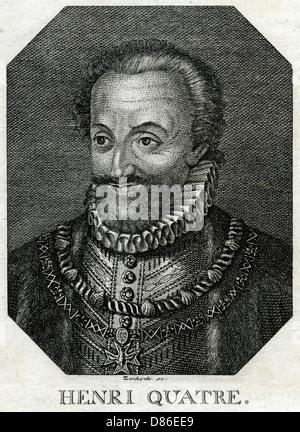Henri Iv King Of France - Stock Photo