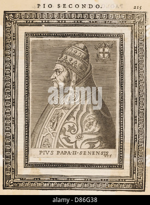 Pius Ii  Pope 1405 1464 - Stock Photo
