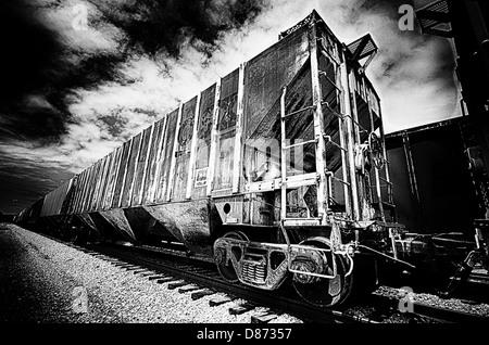 Old Railroad Cars On Railroad Tracks Dire Dawa Harar