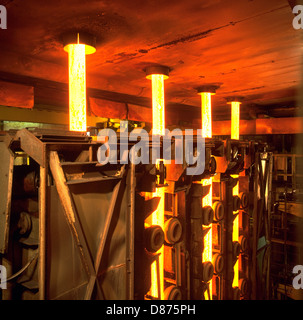 Continuous Casting Plant at Stocksbridge Engineering Steels UK - Stock Photo