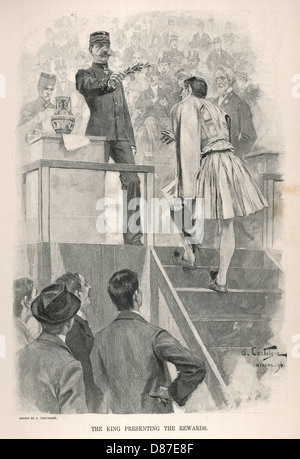 Olympics 1896 Rewards - Stock Photo