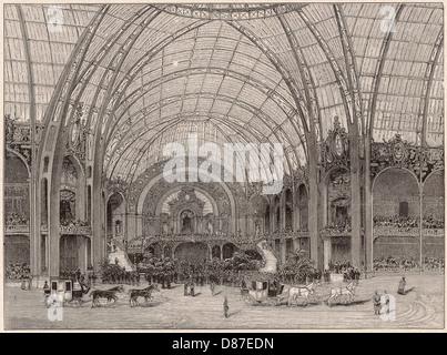 Exhibition Grand Palais - Stock Photo