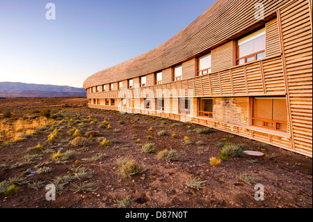 Hotel Tierra Patagonia, Chile - Stock Photo
