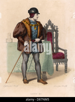 Louis Xi King Of France - Stock Photo