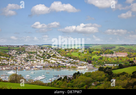 Dartmouth and the Royal Naval College, Devon, England, UK - Stock Photo