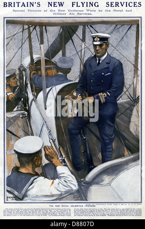 Britains New Flying Services  Ww1 - Stock Photo