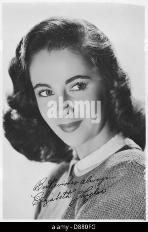 Elizabeth Taylor - Stock Photo