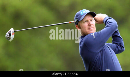 Wentworth, UK. 21st May 2013. Mikko Ilonen during  practice ahead of the BMW PGA Championships. Credit:  Action - Stock Photo