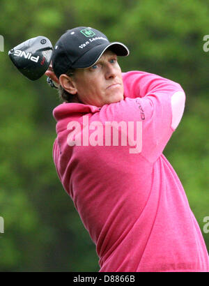 Wentworth, UK. 21st May 2013. Maarten Lafeber  during  practice ahead of the BMW PGA Championships. Credit:  Action - Stock Photo