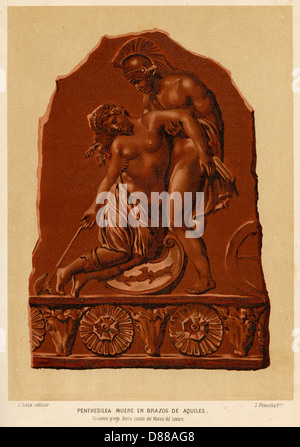 Penthesilea And Achilles Stock Photo Royalty Free Image