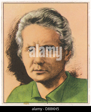 Marie Curie 1867 1934 - Stock Photo