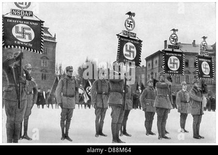 Hitler Putsch 1923 - Stock Photo