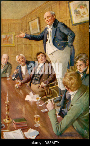 Dickens Pickwick Papers - Stock Photo